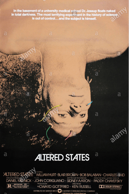 Altered States (1980). Spiritual Movie Review - Jacklyn A. Lo