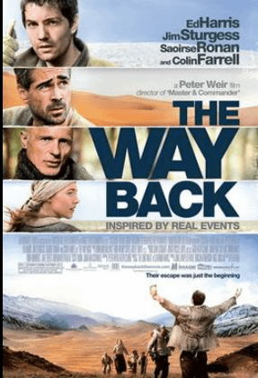 The way back (2010). Spiritual Movie Review - Jacklyn A. Lo