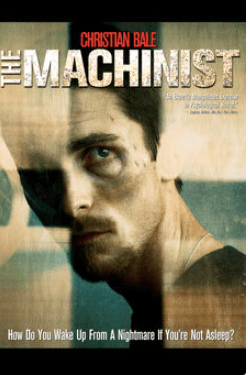 The Machinist (2004). Spiritual movie review - Jacklyn A. Lo