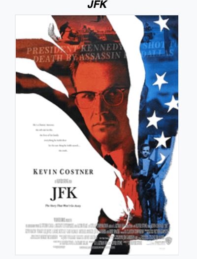JFK (1991). Spiritual Movie Review - Jacklyn A. Lo
